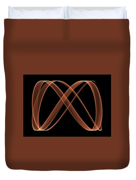Curves Abstract 005 Duvet Cover