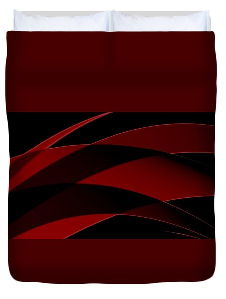 Curves Abstract 013 Duvet Cover