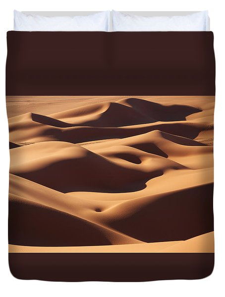 Curves Duvet Cover