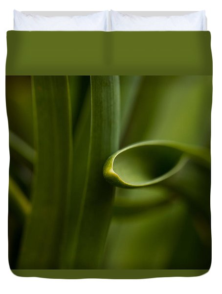 Curves Of Nature Duvet Cover