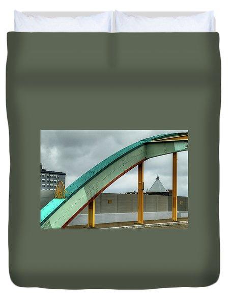 Curving Bridge Duvet Cover