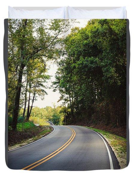 Curvy Road Duvet Cover