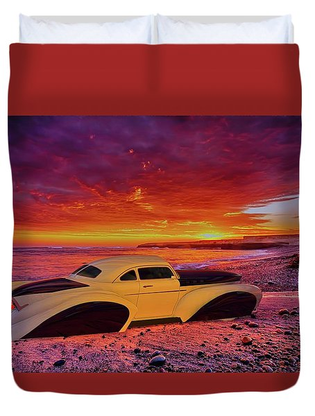 Custom Lead Sled Duvet Cover