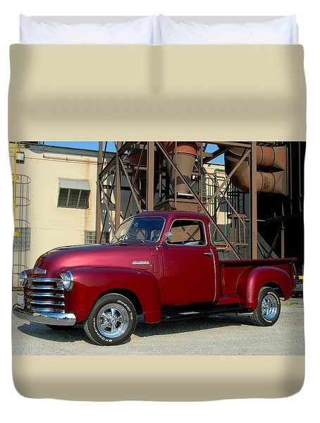 Custom Truck Duvet Cover