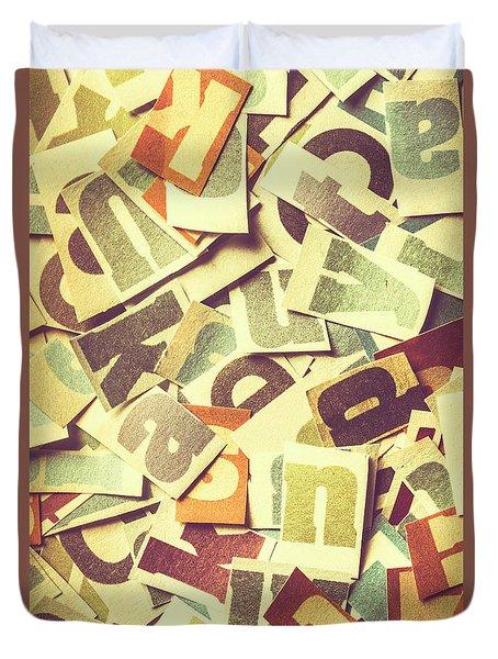 Cut Copy Duvet Cover