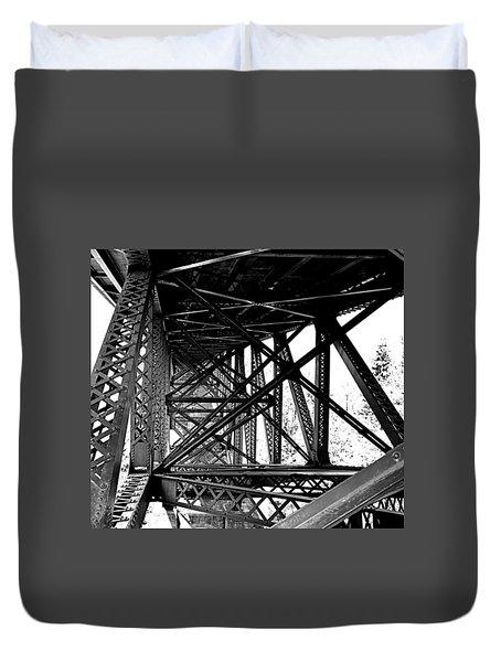 Cut River Bridge Duvet Cover