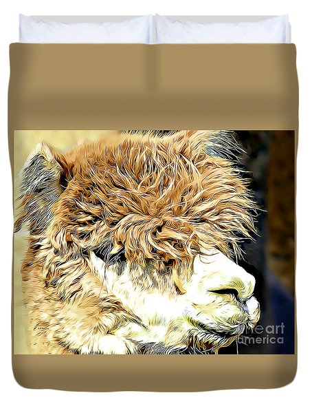 Soft And Shaggy Duvet Cover by Kathy M Krause