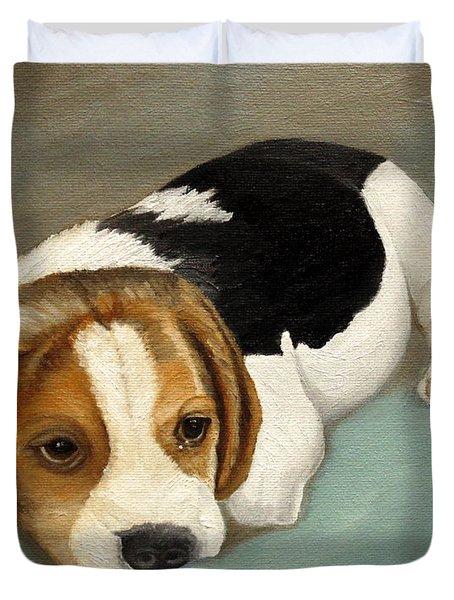 Cute Beagle Duvet Cover
