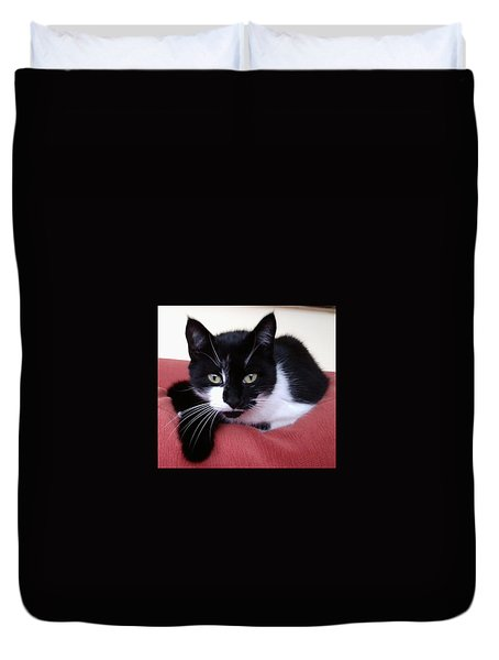 Cute Cat Duvet Cover