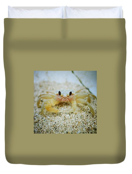 Cute Crab Duvet Cover