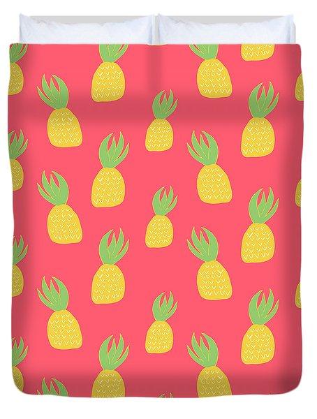 Cute Pineapples Duvet Cover