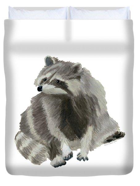 Cute Raccoon Duvet Cover