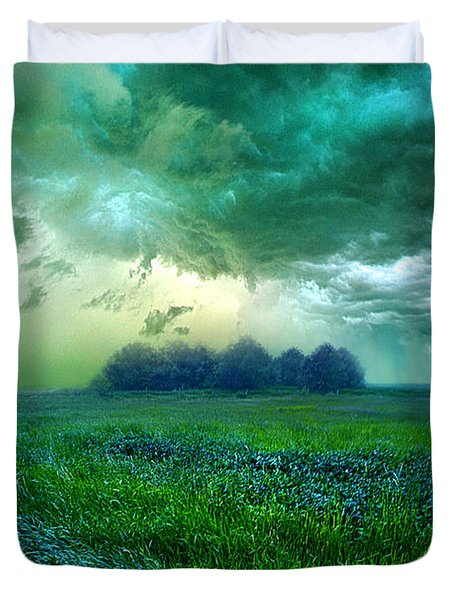 Cutting Loose Duvet Cover by Phil Koch