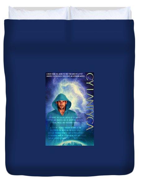 Duvet Cover featuring the photograph Cy Lantyca by Cyryn Fyrcyd