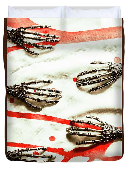 Cyborg Death Squad Duvet Cover