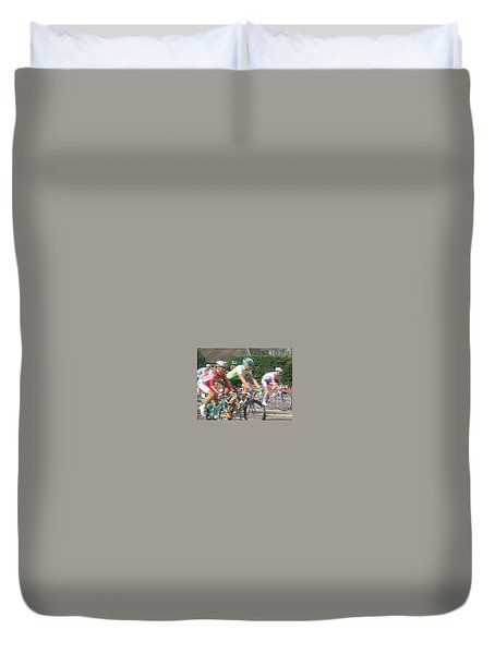 Cycle Race - Lytham Duvet Cover