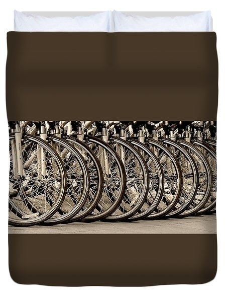 Cycles Duvet Cover