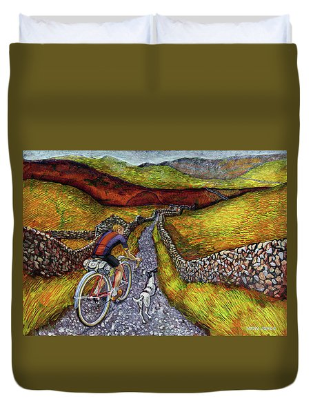 Lancashire Lanes II Duvet Cover by Mark Jones