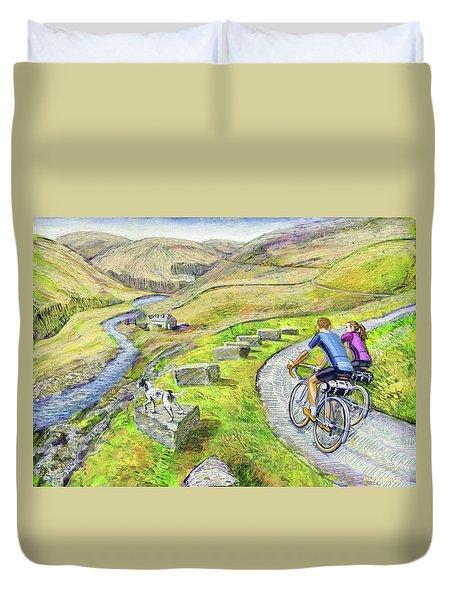 Lancashire Lanes I Duvet Cover