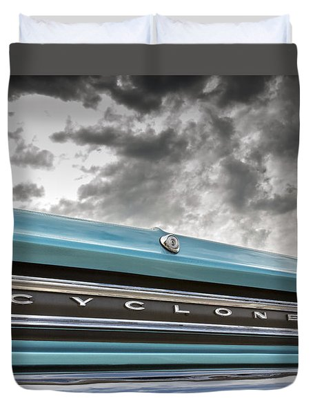 Duvet Cover featuring the photograph Cyclone by Caitlyn Grasso