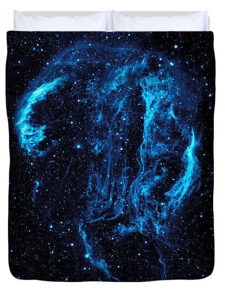 Cygnus Loop Duvet Cover