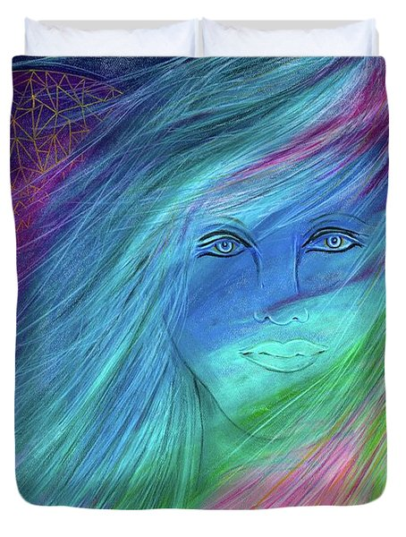 Cyndi 5th Dimension Duvet Cover