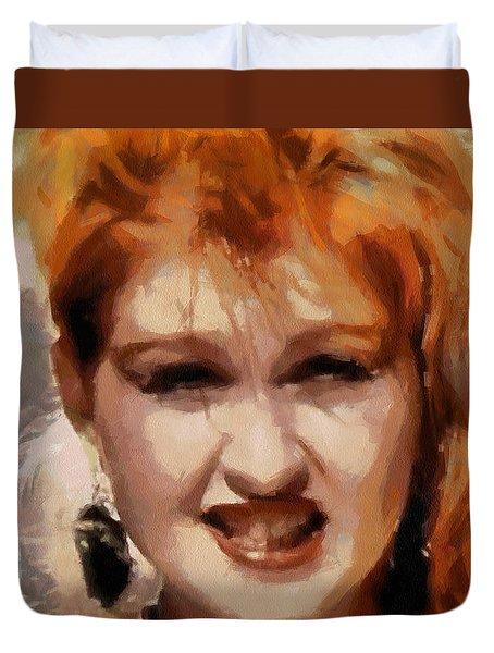 Cyndi Lauper Duvet Cover