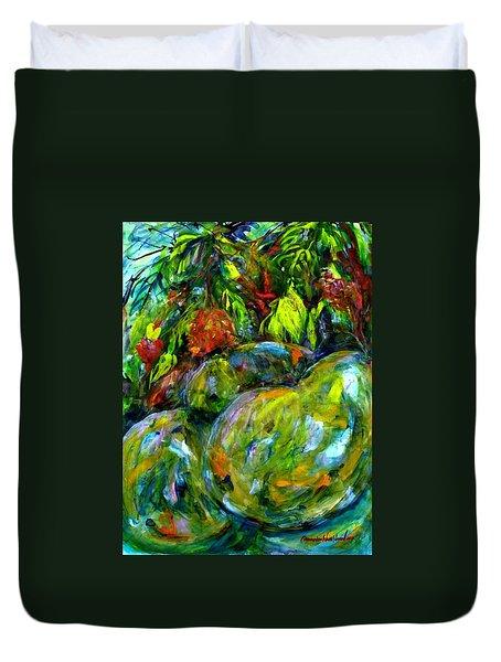 Cynometra Cauliflora Duvet Cover
