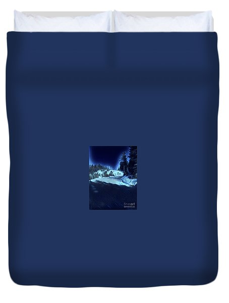 Cypress Bowl, W. Vancouver, Canada Duvet Cover