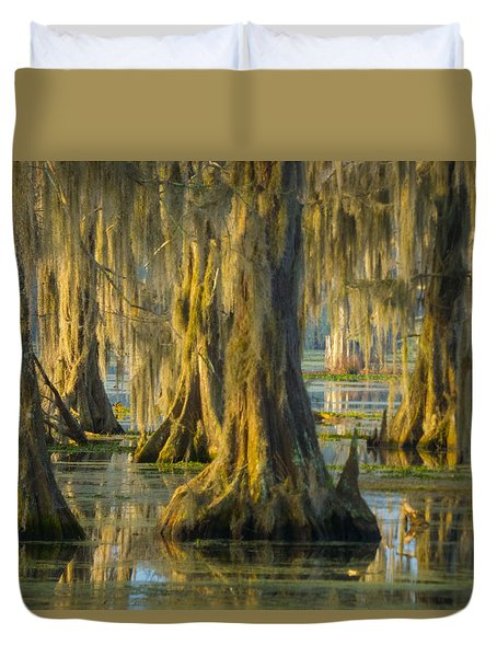 Cypress Canopy Uncovered Duvet Cover