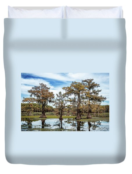 Cypress Expression  Duvet Cover