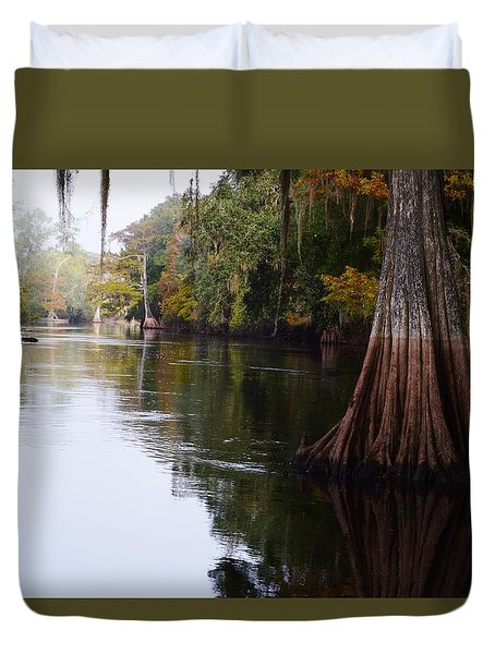 Cypress High Water Mark Duvet Cover
