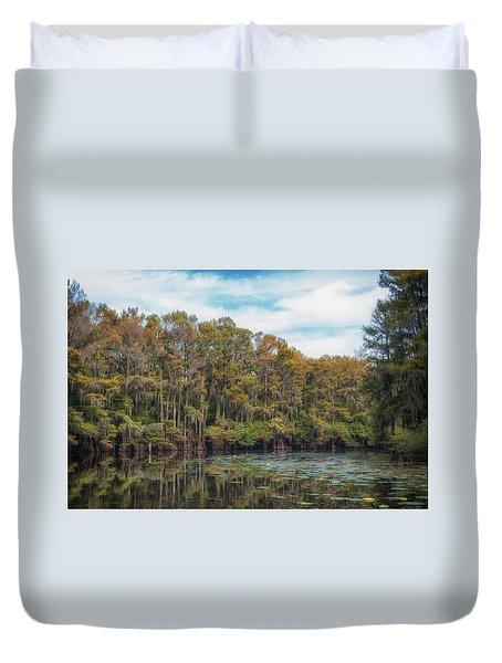 Cypress Jungle Duvet Cover