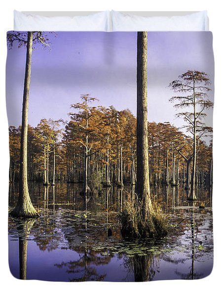 Cypress Pond 05 Duvet Cover
