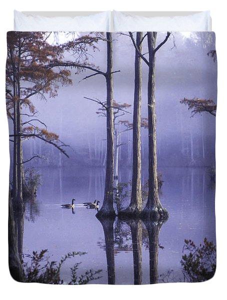 Cypress Pond 11 Duvet Cover
