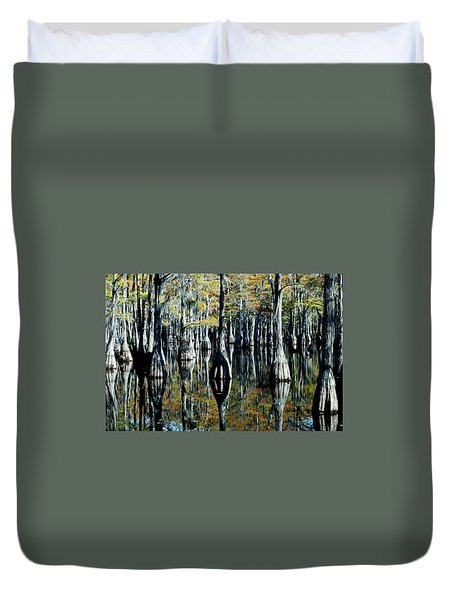 Cypress Reflections Duvet Cover