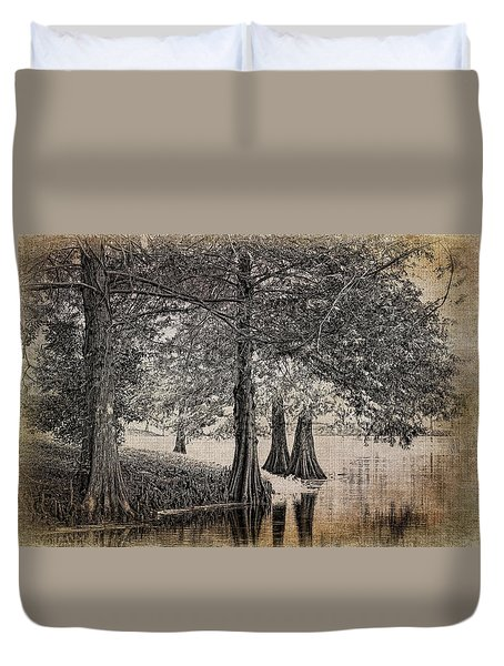 Cypress Retreat Duvet Cover