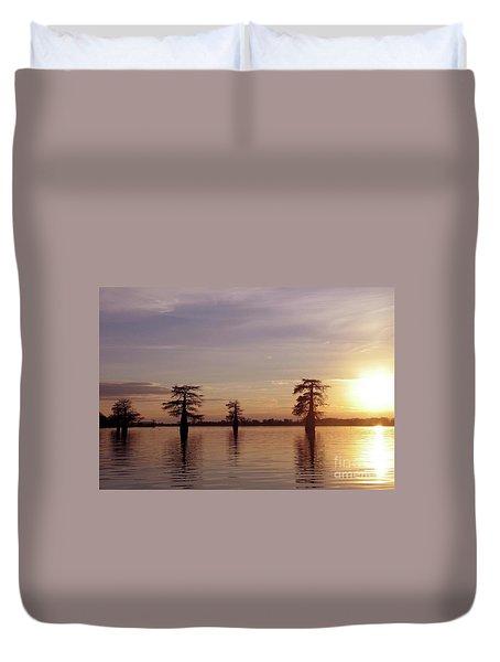 Cypress Sunset Duvet Cover