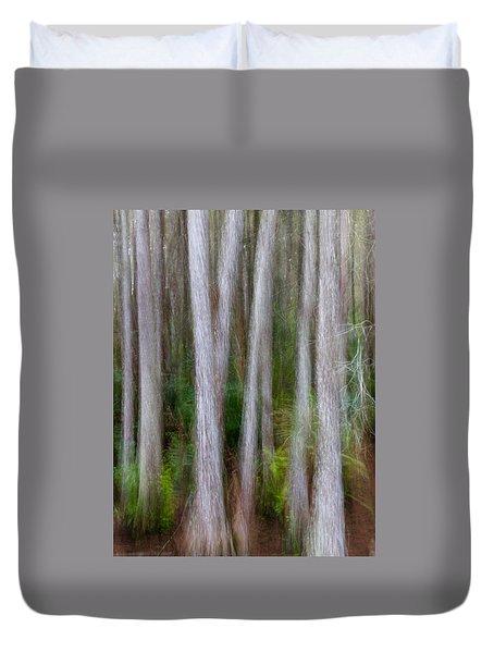 Cypress Swamp Duvet Cover