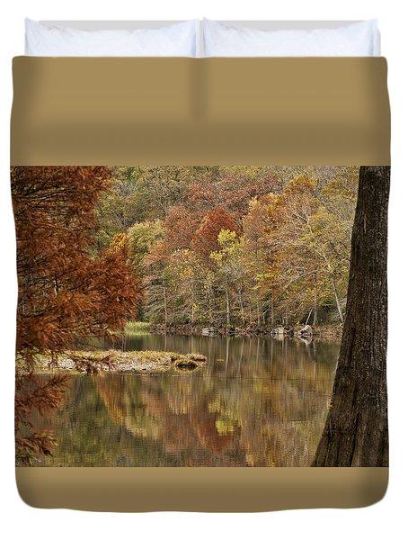 Cypress Window Duvet Cover