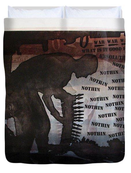 D U Rounds Project, Print 4 Duvet Cover