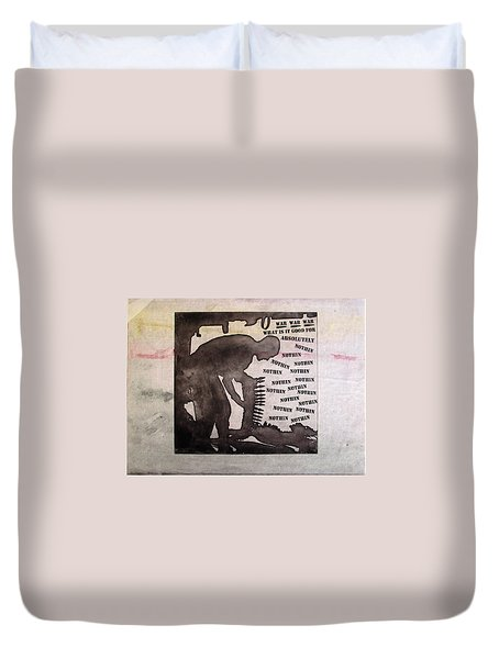 D U Rounds Project, Print 10 Duvet Cover