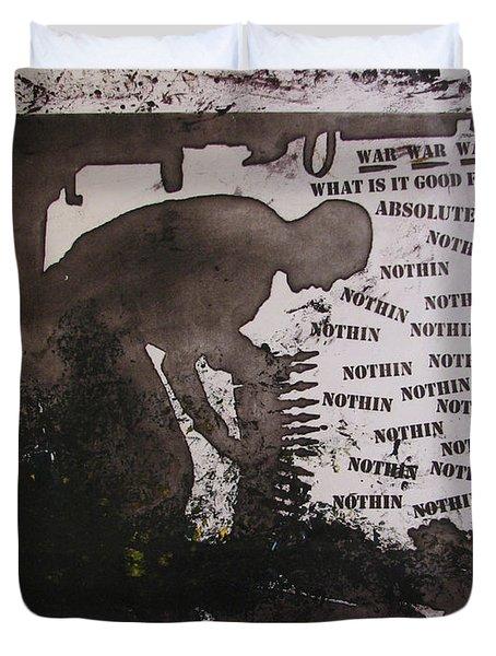 D U Rounds Project, Print 13 Duvet Cover