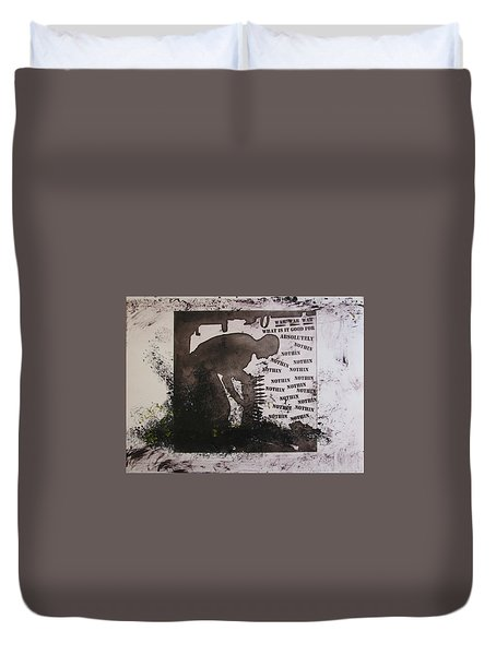 D U Rounds Project, Print 13 Duvet Cover