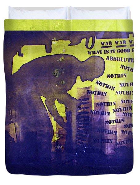 D U Rounds Project, Print 24 Duvet Cover