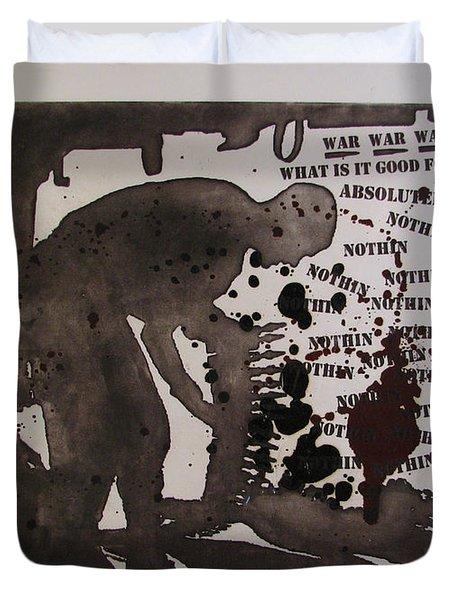 D U Rounds Project, Print 26 Duvet Cover