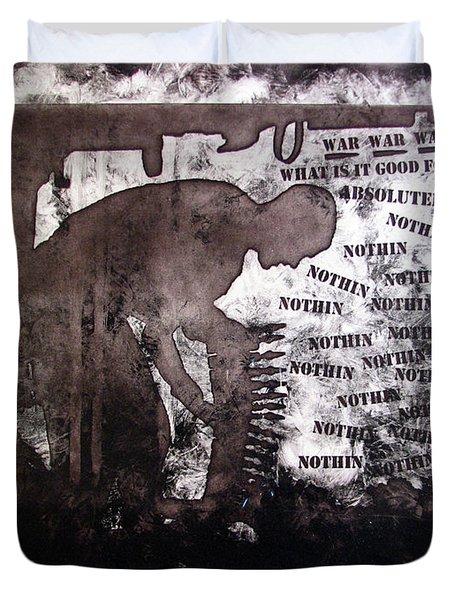 D U Rounds Project, Print 28 Duvet Cover