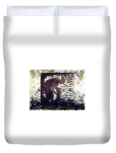 D U Rounds Project, Print 29 Duvet Cover