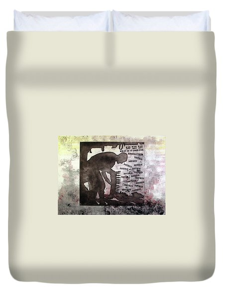 D U Rounds Project, Print 30 Duvet Cover