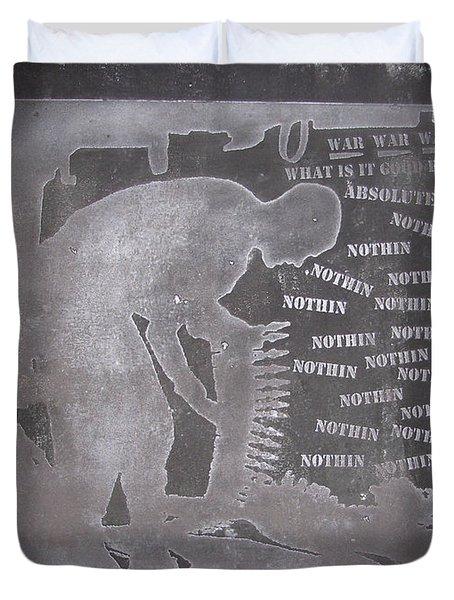 D U Rounds Project, Print 33 Duvet Cover